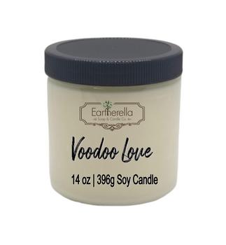VOODOO LOVE Soy Candle 14 oz jar