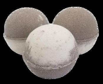 "COCONUT scented giant bath bomb 2.5"" diameter, 5.8 oz"