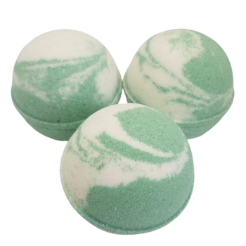 "BALSAM scented giant bath bomb 2.5"" diameter, 5.8 oz"