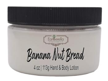 BANANA NUT BREAD Hand & Body Lotion Jar, 4 oz.