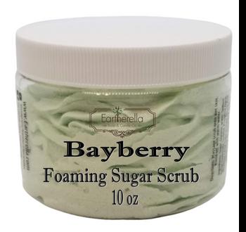 BAYBERRY Exfoliating Foaming Sugar Body Scrub, 10 oz jar