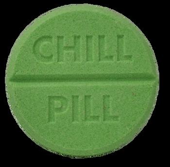 CHILL PILL bath bomb 7 oz - your choice scent & color