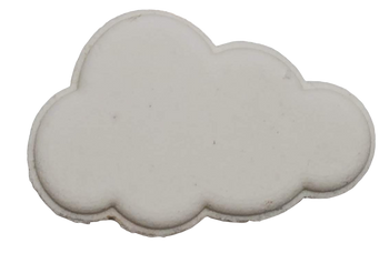 CLOUD Surprise RAINBOW bath bomb 6 oz - your choice scent & color