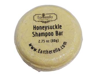 HONEYSUCKLE Shampoo Bar, 2.75 oz, 80g