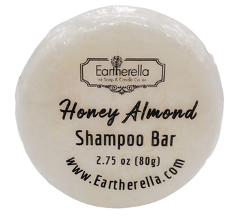 HONEY ALMOND Shampoo Bar, 2.75 oz, 80g