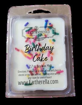 BIRTHDAY CAKE w/Sprinkles Soy Melts Tarts 2.7 oz