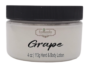 GRAPE Hand & Body Lotion Jar, 4 oz.