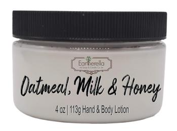 OATMEAL, MILK & HONEY Hand & Body Lotion Jar, 4 oz.