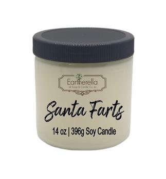 SANTA FARTS Soy Candle 14 oz jar