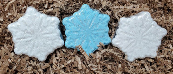 SNOWFLAKES bath bombs, 6 oz