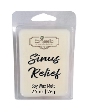 SINUS RELIEF Soy Melts Tarts 2.7 oz