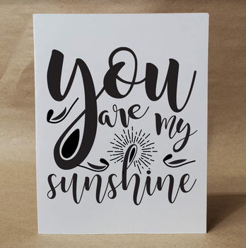 YOU ARE MY SUNSHINE | Greeting Card | Card for Friend | I Love You Card | Card for Him | For Her