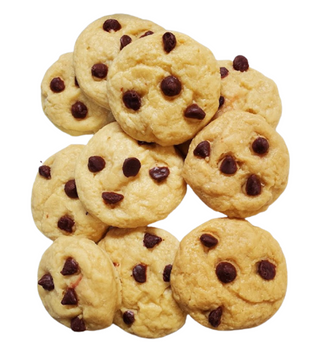 Realistic CHOCOLATE CHIP COOKIES Wax Melts | Wax Embeds for Candles | Fake Food | 1/2 lb | 1 lb