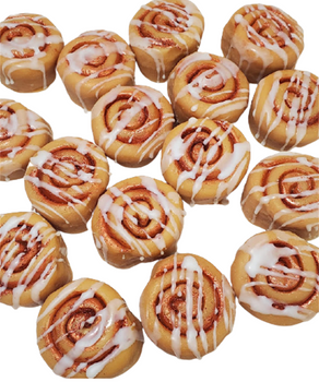 Realistic CINNAMON BUNS Wax Melts   Wax Embeds for Candles   Fake Food