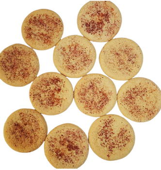 WHOLESALE 25-pack of realistic SNICKERDOODLE COOKIES Wax Melts   Wax Embeds for Candles   Fake Food
