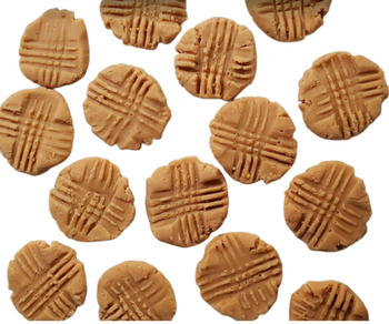 WHOLESALE 25-pack of realistic PEANUT BUTTER COOKIES Wax Melts   Wax Embeds for Candles   Fake Food