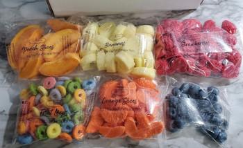 FRUIT VARIETY BOX Wax Melts | Fake Food | 16 oz box