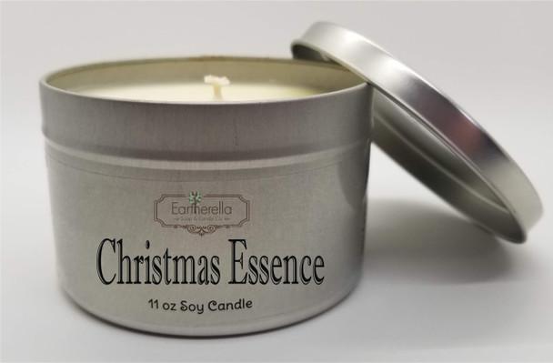 CHRISTMAS ESSENCE Soy Candle 11 oz Tin