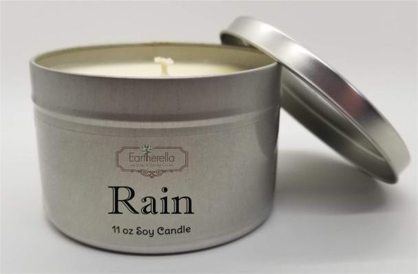 RAIN Soy Candle & Hand Lotion 11 oz Tin