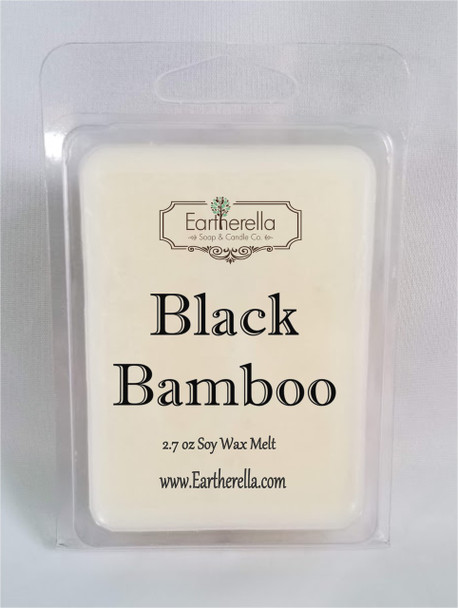 BLACK BAMBOO Soy Melts Tarts 2.7 oz