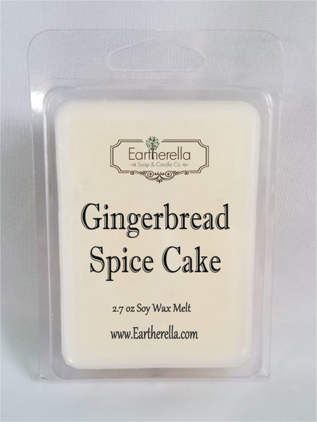 GINGERBREAD SPICE CAKE Soy Melts Tarts 2.7 oz