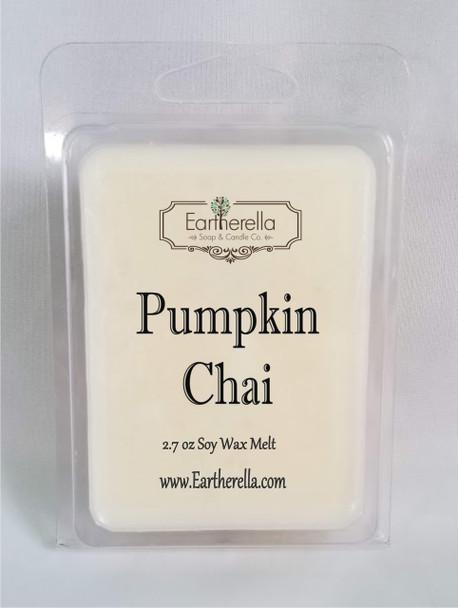 PUMPKIN CHAI Soy Melts Tarts 2.7 oz