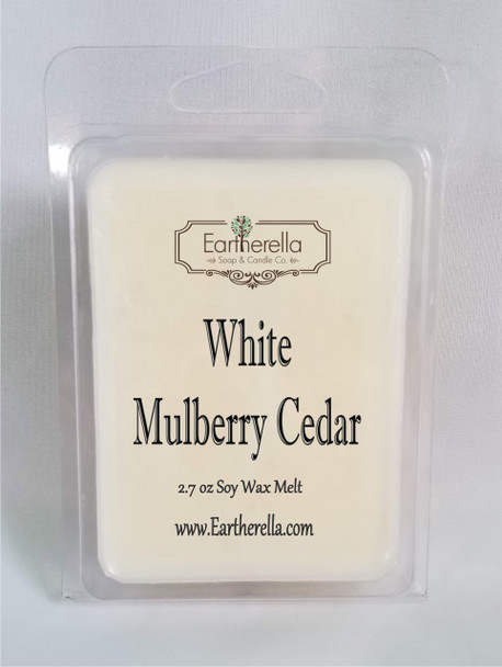 WHITE MULBERRY CEDAR Soy Melts Tarts 2.7 oz
