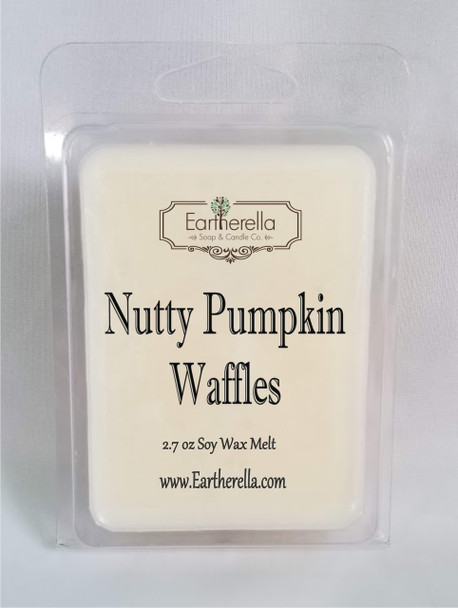 NUTTY PUMPKIN WAFFLES Soy Melts Tarts 2.7 oz