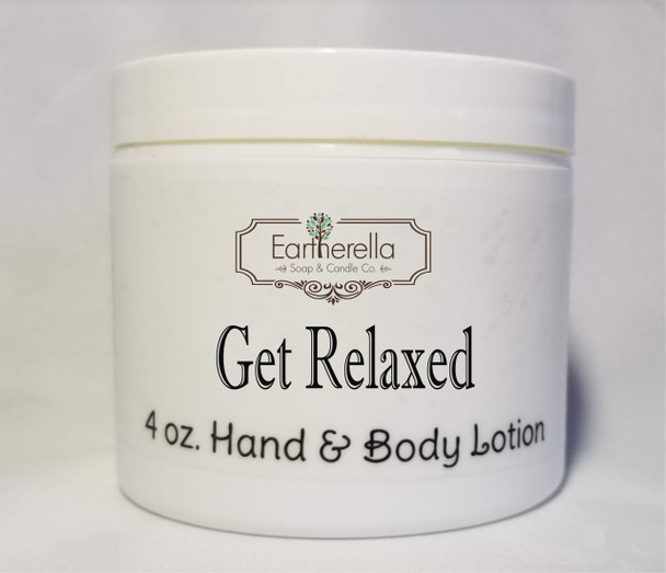 GET RELAXED! Hand & Body Lotion Jar, 4 oz.