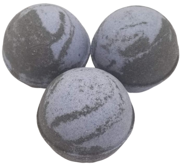 "DEADLY WEAPON scented giant bath bomb 2.5"" diameter, 5.8 oz"