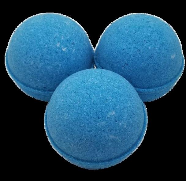 "RAIN scented giant bath bomb 2.5"" diameter, 5.8 oz"