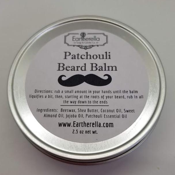 Men's BEARD BALM Mustache Wax, 2.5 oz tin