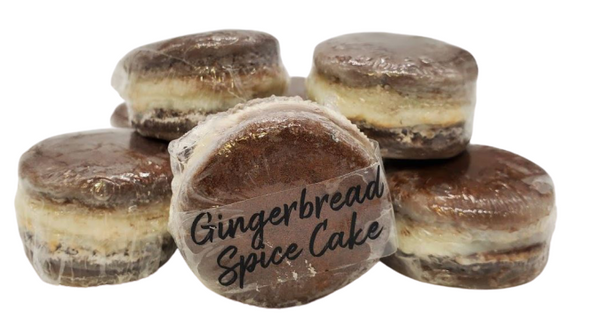 GINGERBREAD SPICE CAKE 9-pack MACARON soy wax melts