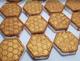 HONEY ALMOND Honeycomb bath bomb 5 oz