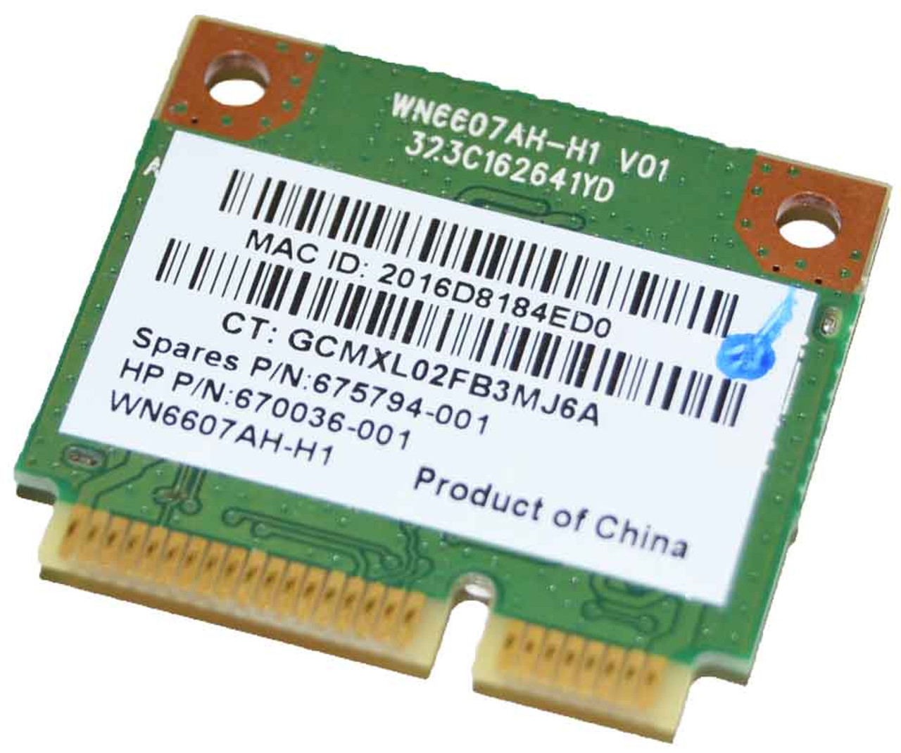 Atheros AR5B125 HP 670036-001 WiFi WLAN Half Mini PCI-E Card