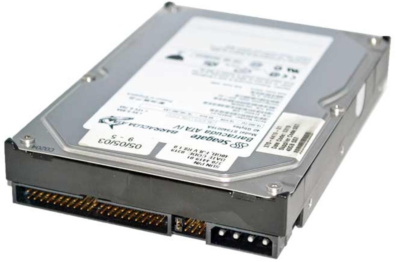 160 GB, 7200 rpm, cach/é de 2 MB, IDE Ultra ATA100 // ATA-6 pulgadas PATA Seagate DB35 Series ST3160215ACE Disco duro interno de sobremesa