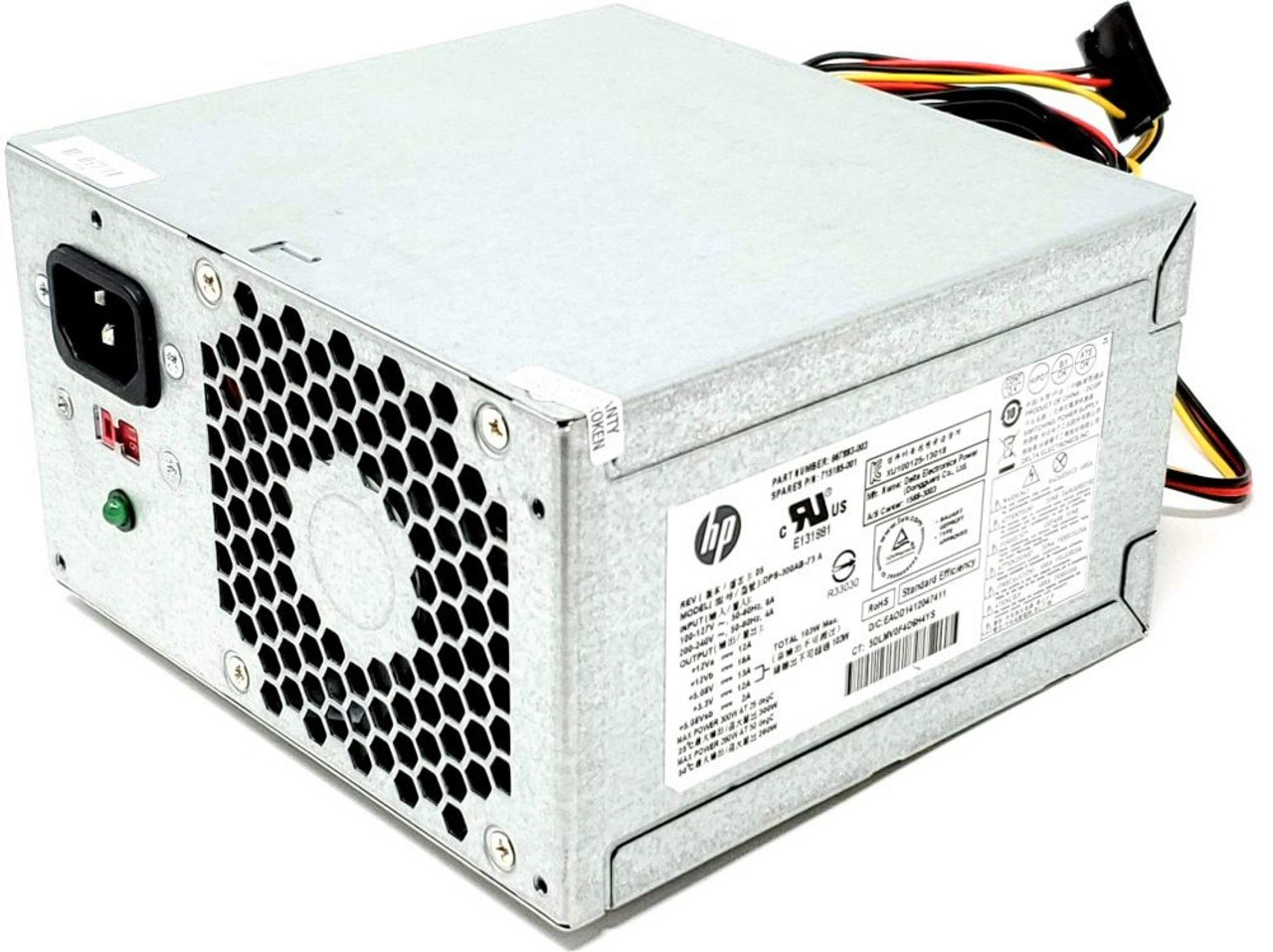 New PC Power Supply Upgrade for HP Pavilion 500-510t CTO Desktop Computer