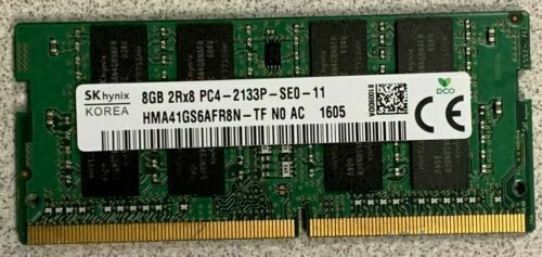 820570-001 HP 8GB 2133MHz 1.2v DDR4 Dual in-line Laptop Memory RAM SODIMM