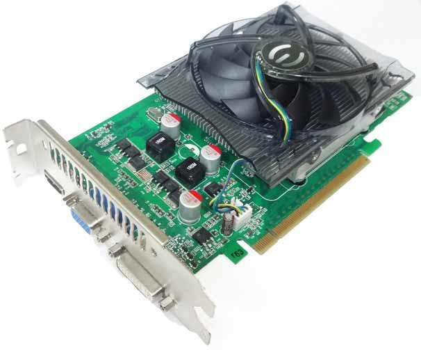 EVGA nVidia GeForce GT240 1 GB DDR3 VGA//DVI//HDMI PCI-Express Video Card 01G-P3-1235-LR