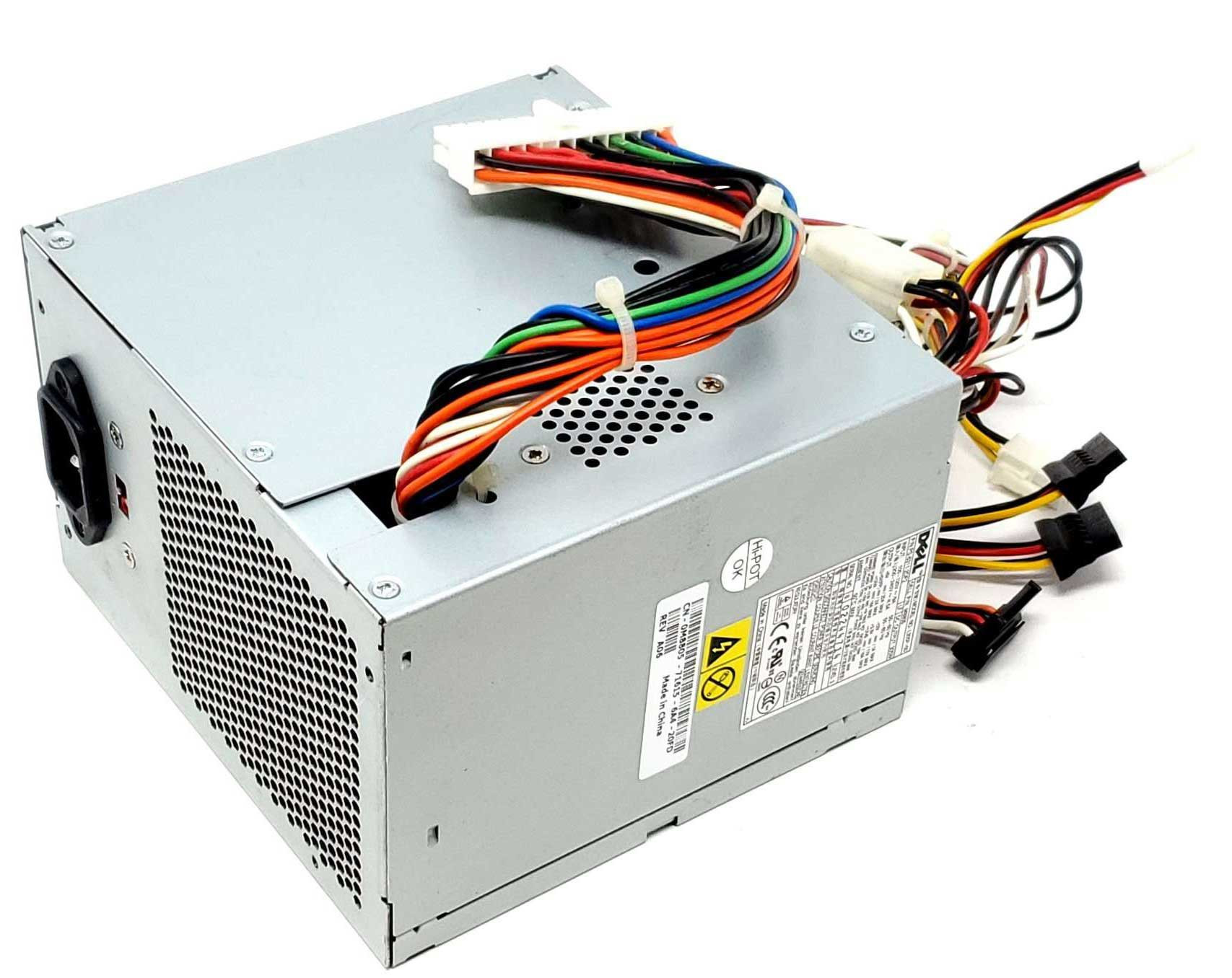 Genuine Dell Optiplex 745 760 755 MT 305W Power Supply NH493