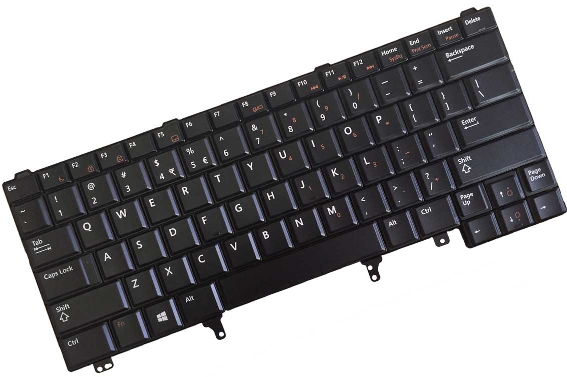 Dell V118925CS3 - Black Keyboard US/International Layout For Latitude  E5430, E6330 , E6430