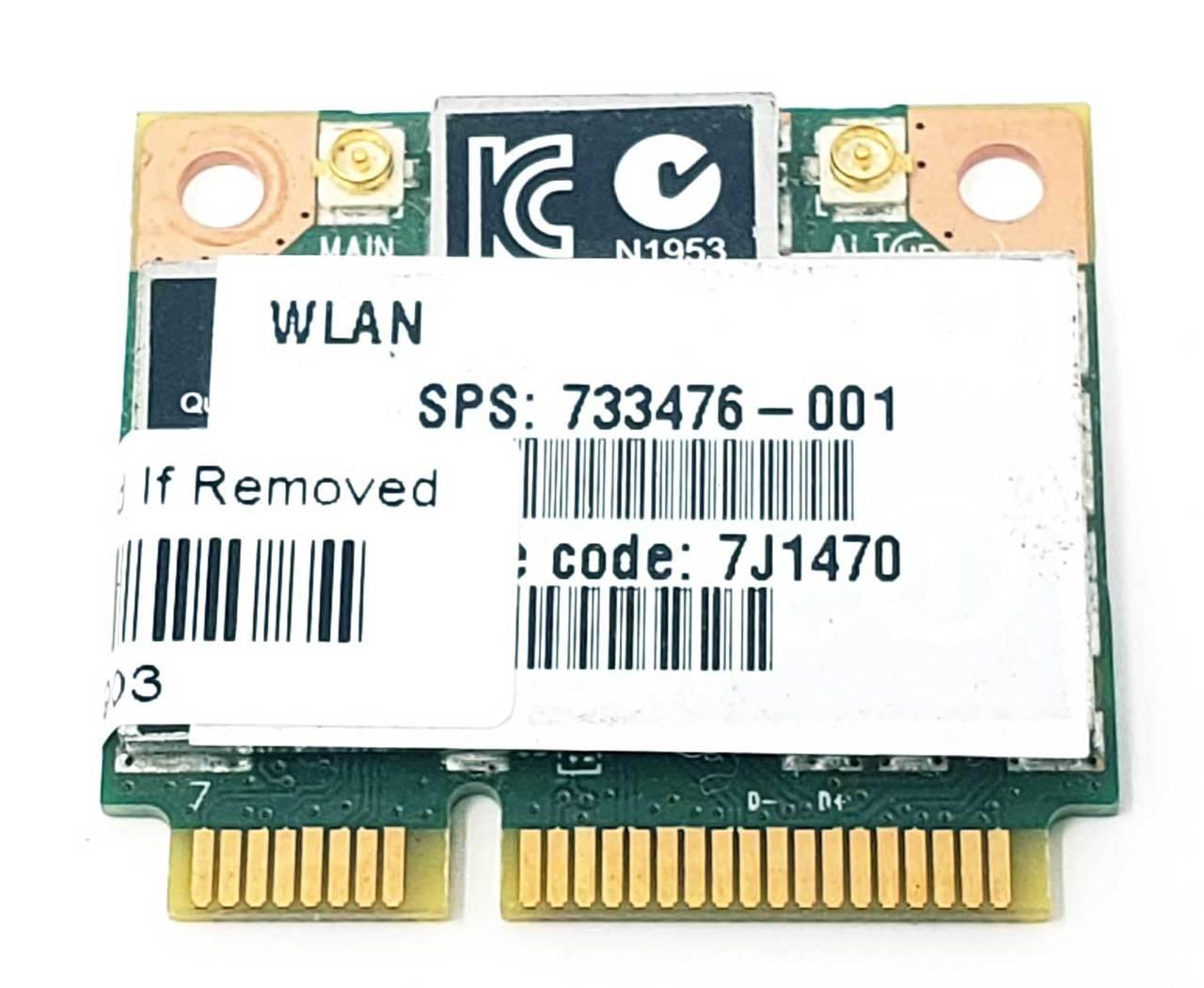 HP Atheros QCWB335 WIFI BT4.0 Mini PCI-E WLAN Wireless Card SPS 689457-001