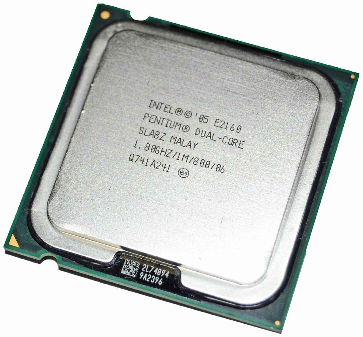 Intel Pentium Dual Core CPU Processor 1.80 E2160 SLA8Z