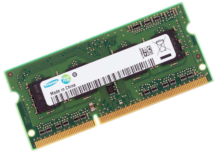 2GB M471B5773DH0-CH9 DDR3 SDRAM SO-DIMM SAMSUNG MEMORY CARD PC3-10600S