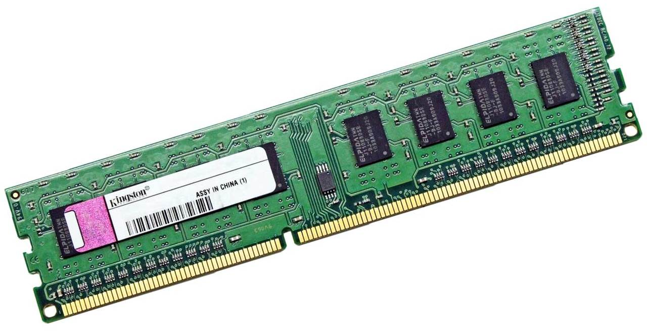 Desktop 240 Pin Dimm Kingston Kvr1333d3 2gr 2gb 1333mhz Pc3 10600u Ddr3 1333 240 Pin Dimm Desktop Memory Ram Cpu Medics