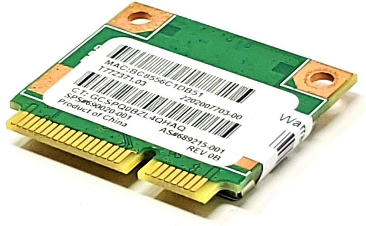 690020 689215-001 RT3290LE WIRELESS N mini pcei half card for HP COMPAQ RALINK