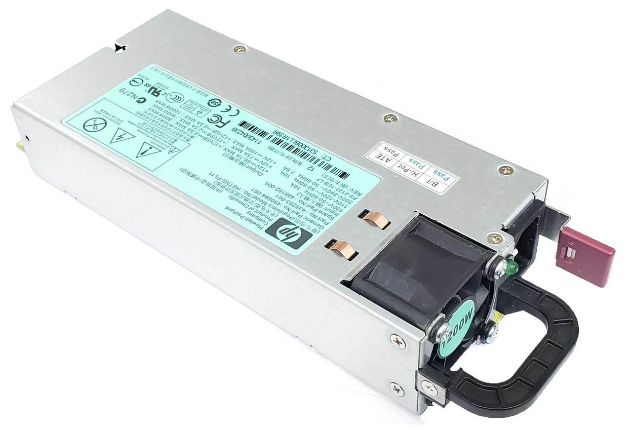 438203-001 HP Proliant 1200W Power Supply 498152-001 PSU PS-2122-1CB HSTNS-PL11