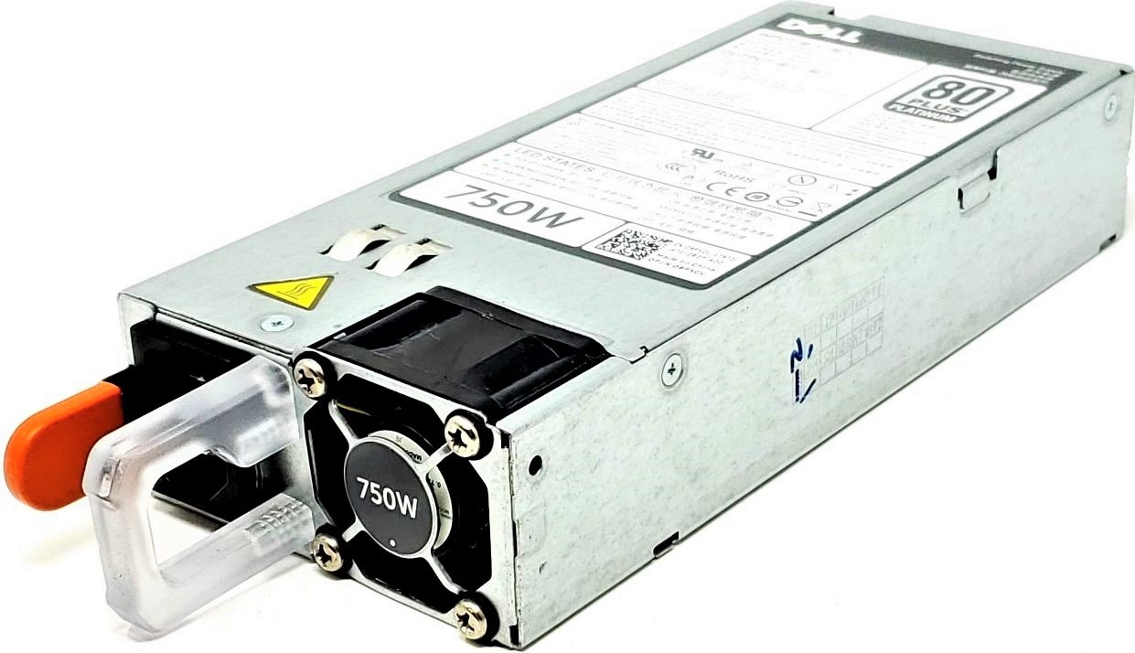 E750E-S0 DELL 750W 80 PLUS PLATINUM POWER SUPPLY FOR POWEREDGE R620 R720