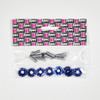 Anodized Washer/Bolt Kit (8-Pack, M6)