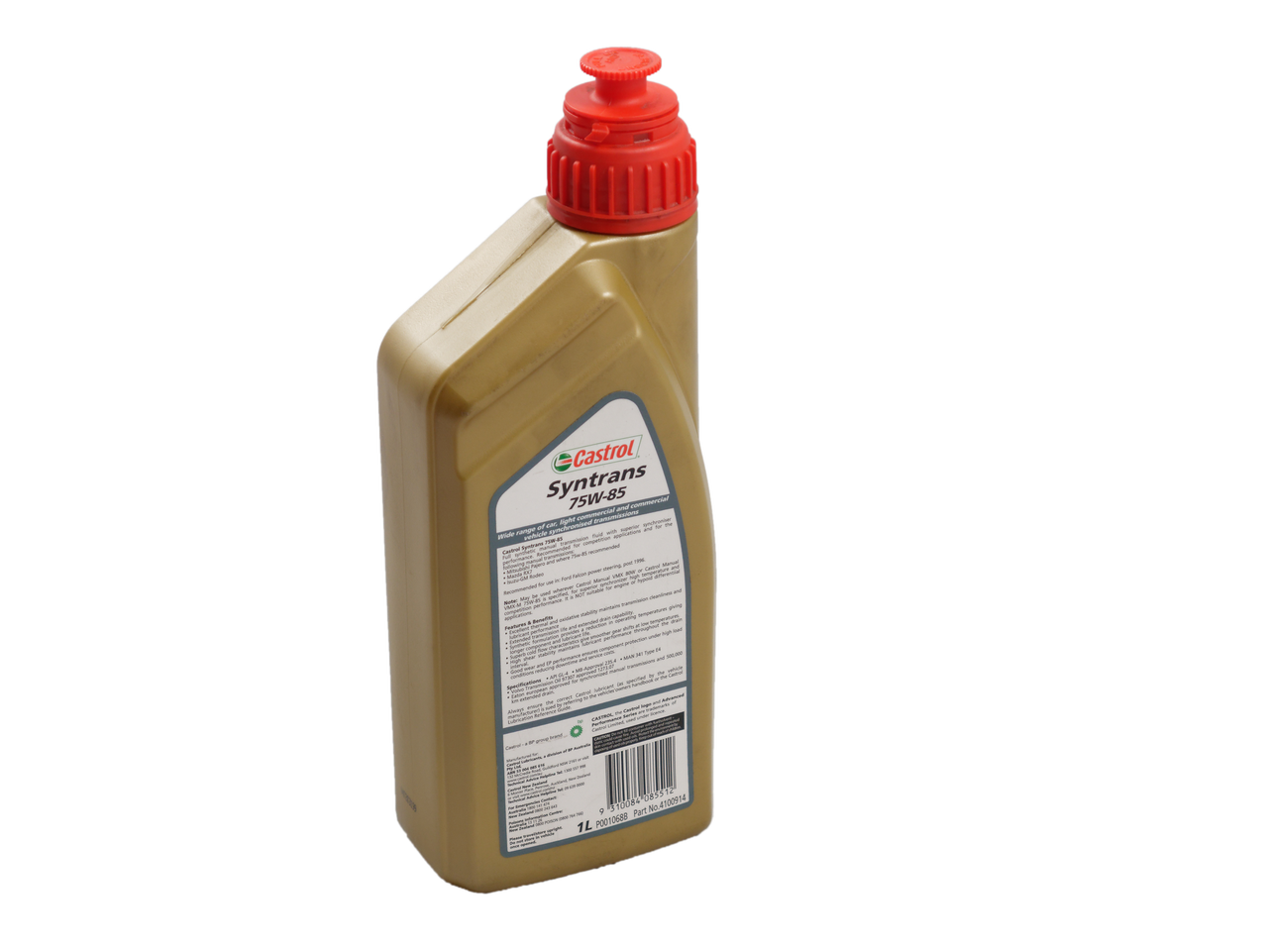 Castrol Syntrans 75W-85 Manual Transmission Fluid (1L)